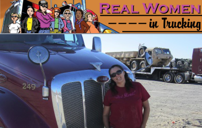 Desiree Wood - Real Women in Trucking